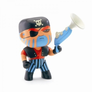 Djeco Jack Skull Pirate Arty Toy DJ06801