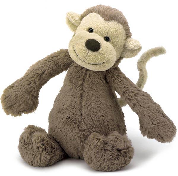 Jellycat Bashful Monkey Daisy Daisy
