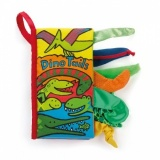 Jellycat Dino Tails Soft Book