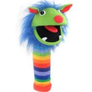 The Puppet Company Sockettes Glove Puppet - Rainbow Puppet