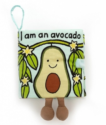 Jellycat Avocado Soft Book