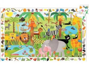 Djeco Jungle Observation Puzzle 35 Pieces DJ07590