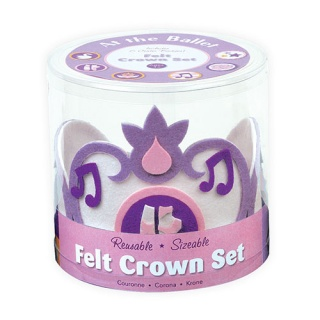 Mudpuppy Felt Crowns Ballet