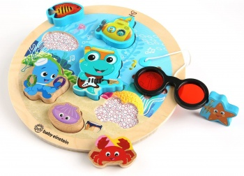 Hape Baby Einstein Submarine Adventure Wooden Puzzle