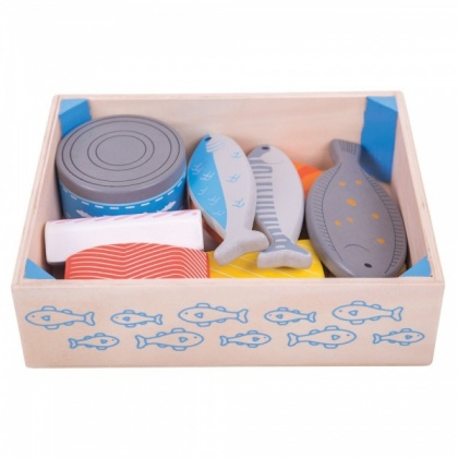 Bigjigs Food Crate - Fish