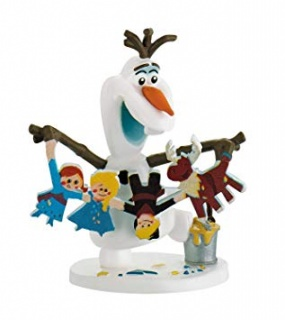 Bullyland Olaf's Frozen Adventure - Olaf with Garland