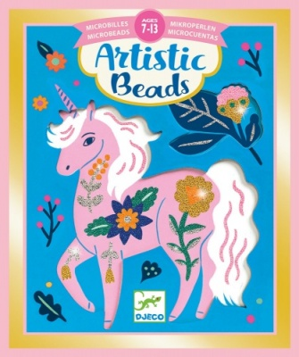 Djeco Artistic Beads Flowers and Fur DJ09475