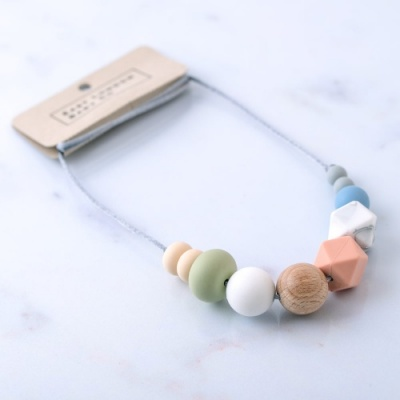 East London Baby Company Leyton Teething Necklace
