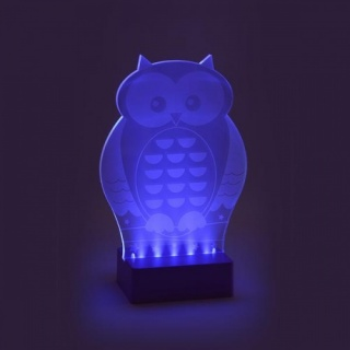 Floss and Rock Night Light - Owl