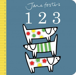 Jane Foster's 123 (Board Book)