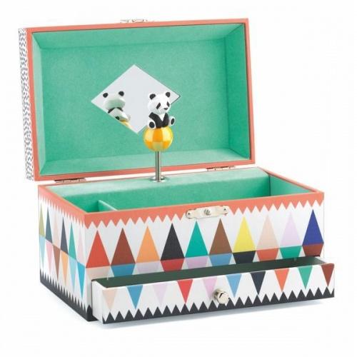 Djeco Musical Jewellery Box The Pandas Song DJ06601 Daisy Daisy