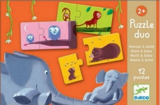 Djeco Mum and  Baby Puzzle Duo DJ08157