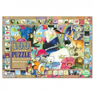 Eeboo  100 piece Puzzle Natural Science