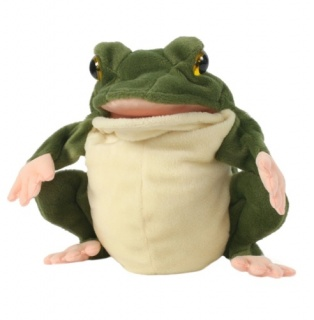 The  Puppet Company - European Wildlife Frog Puppet
