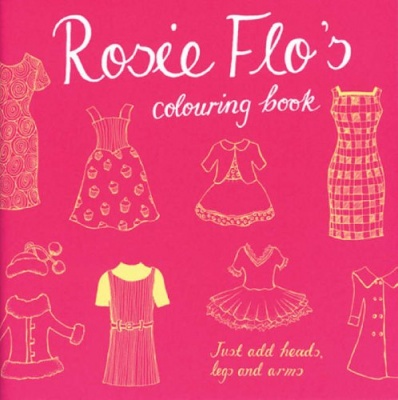Rosie Flo's Colouring Book (various designs)