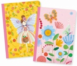 Djeco Lovely Paper 2 Small Notebooks (Various Designs)