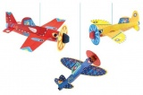 Djeco Lightweight Planes to Hang DD04949