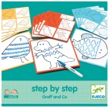 Djeco Step by Step Graff and Co DJ08324