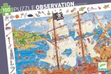 Djeco Pirate Observation Puzzle 100 Pieces DJ07506