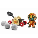 Djeco Arty Toys Knights - Baldy and Big Paf DJ06731