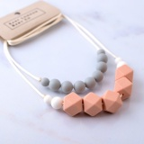East London Baby Company Lovebird Teething Necklace