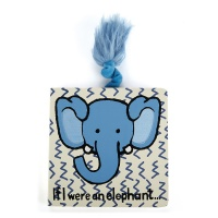 Jellycat If I Were an Elephant (Board Book)
