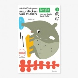 Makii Wall Stickers - Small: Tapir Lola