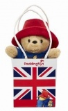 Rainbow Designs Classic Paddington Bear in Union Jack Bag