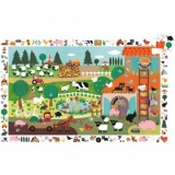 Djeco The Farm Observation Puzzle 35 Pieces DJ07591