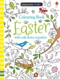 Usborne Mini Easter Colouring Book with Transfers