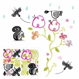 Wee Gallery - Wall Graphics: Garden