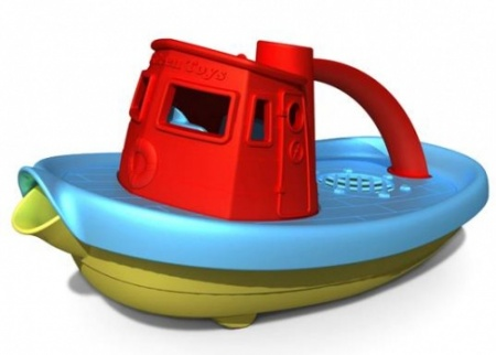 Green Toys Tug Boat (Choice of Colours)