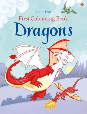 Usborne First Colouring Book (Various Designs)
