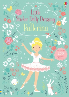 Usborne Little Sticker Dolly Dressing Book (Various Designs)